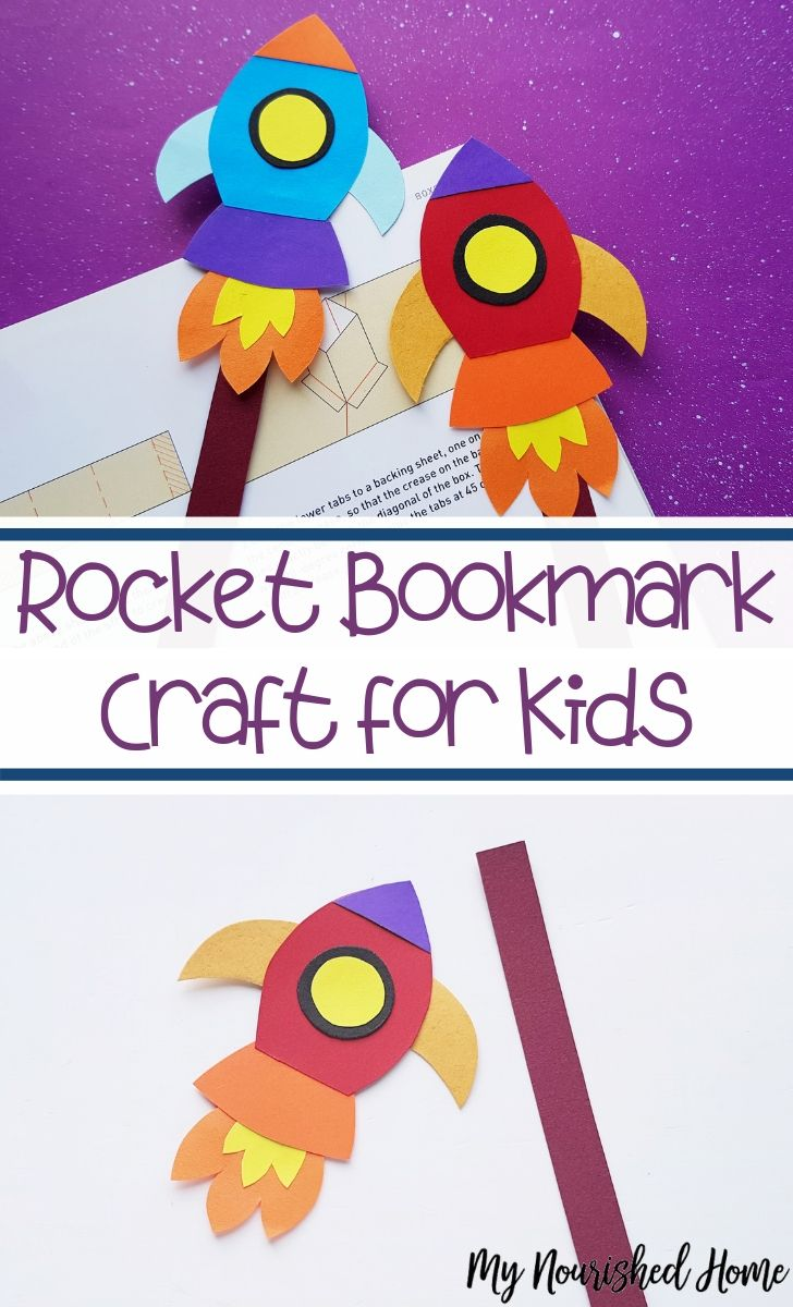 Rocket Bookmark - MyNourishedHome.com