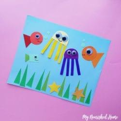 Under the Sea Toddler Craft - MyNourishedHome.com