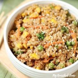 Cauliflower Fried Rice Recipe - MyNourishedHome.com
