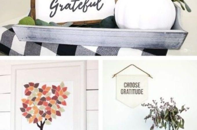 DIY Thanksgiving Wall Art - MyNourishedHome.com