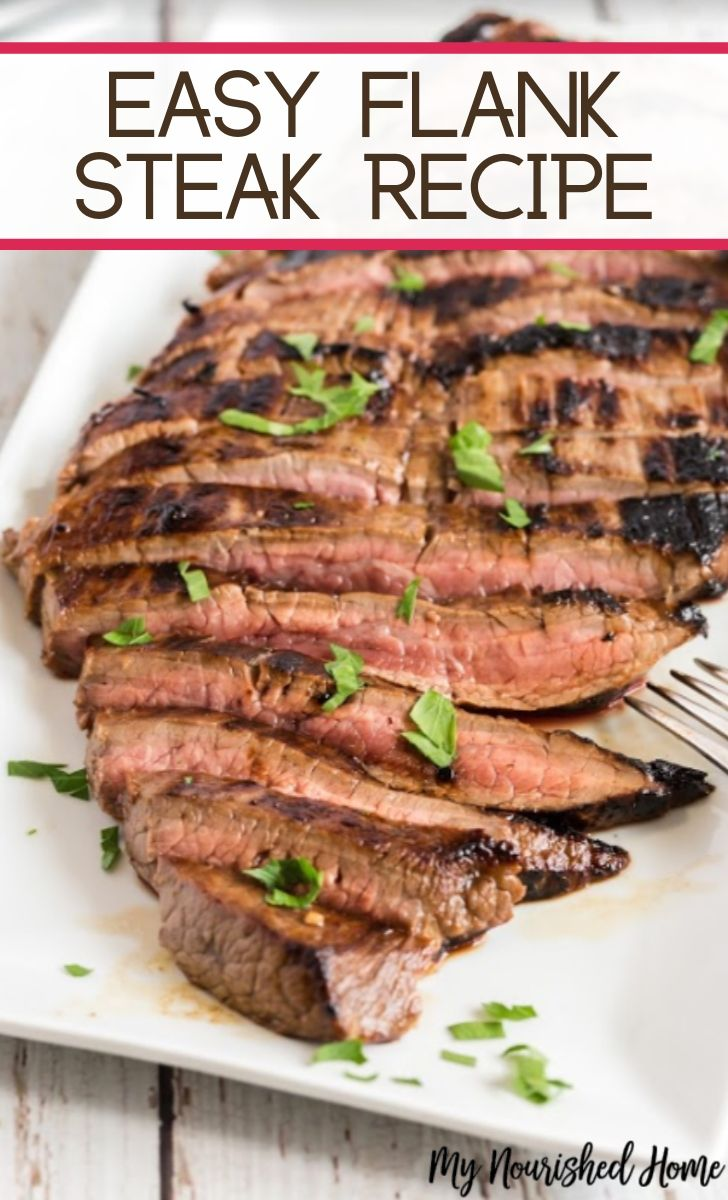Easy Cast Iron Flank Steak Recipe