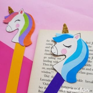 Pointer Unicorn Bookmarks - MyNourishedHome.com
