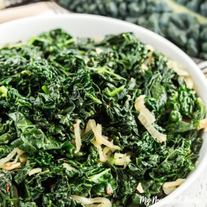 The Most Awesome Sauteed Kale My Nourished Home