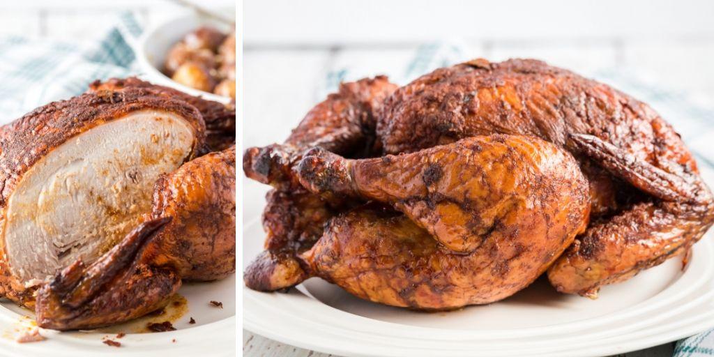 smoked whole chicken recipe