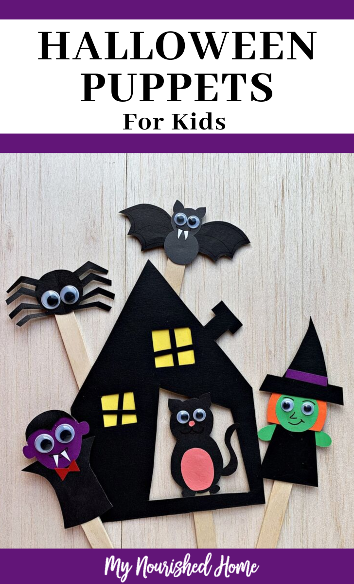 Fun Halloween Puppets for Kids