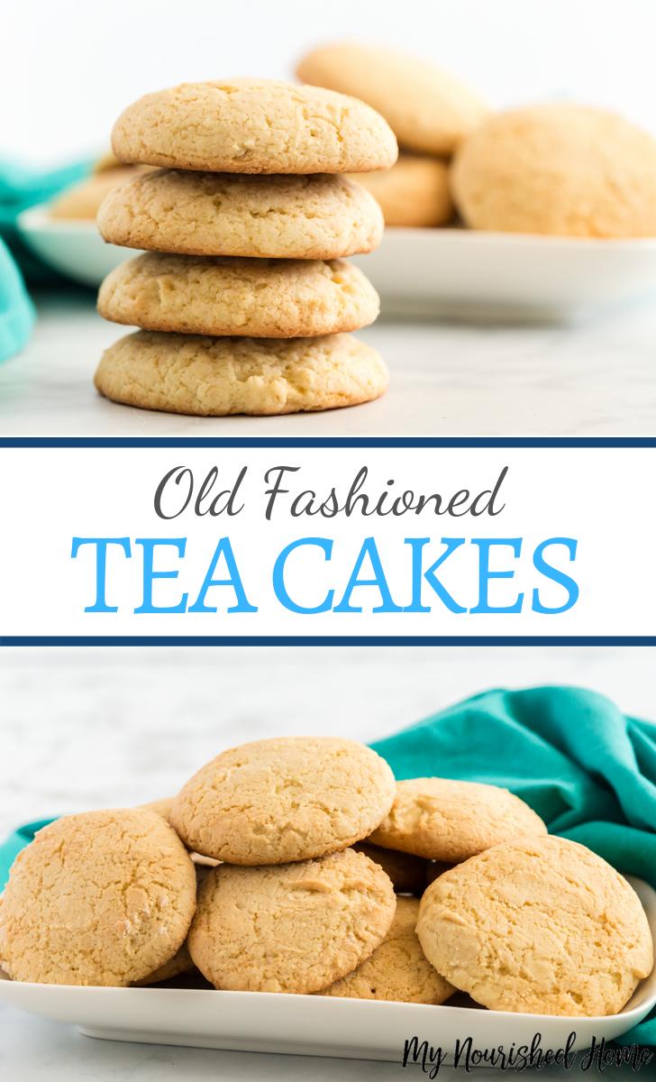 old fashioned tea cakes