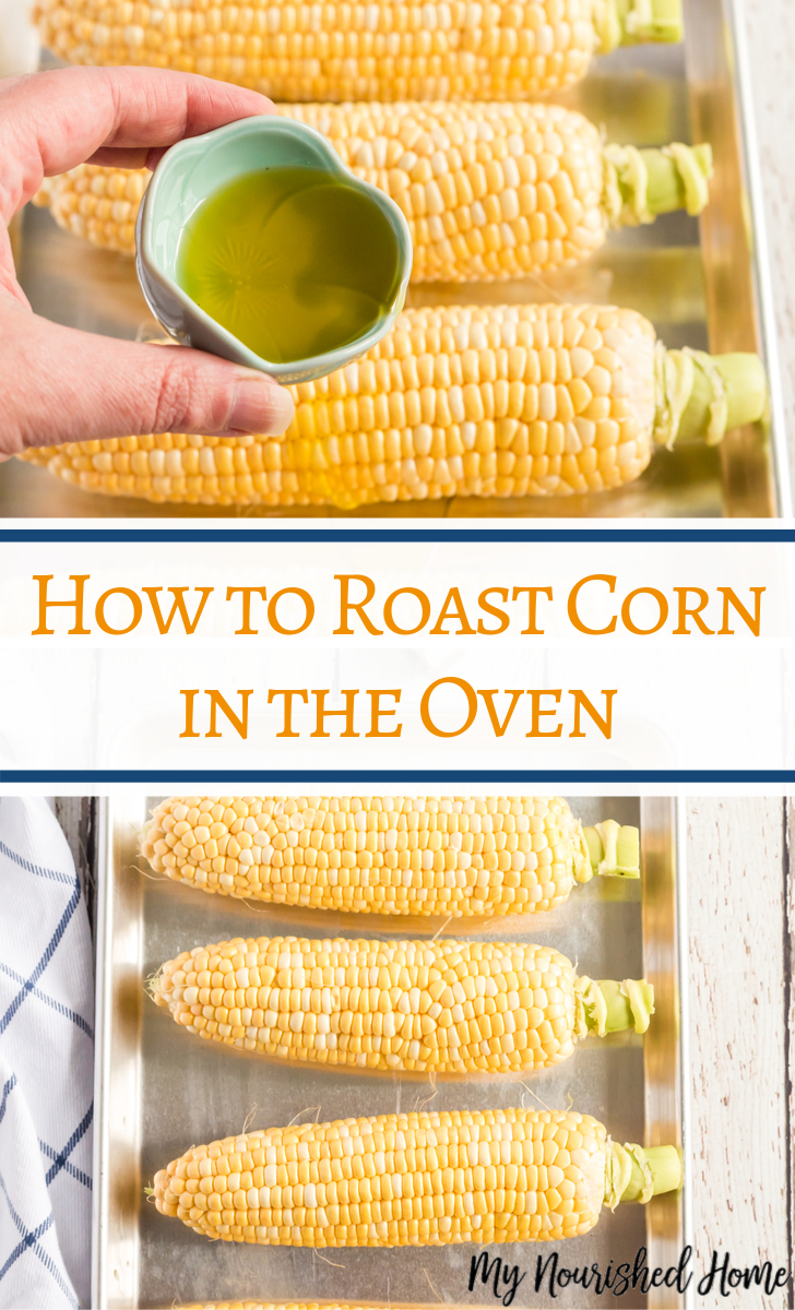 How to make Roast Corn in the oven