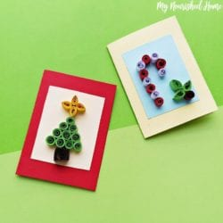 Quilled Christmas Cards