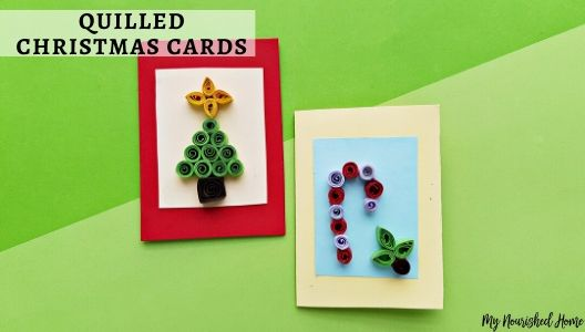 quilling christmas cards