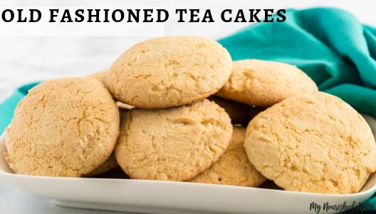 how to make tea cakes