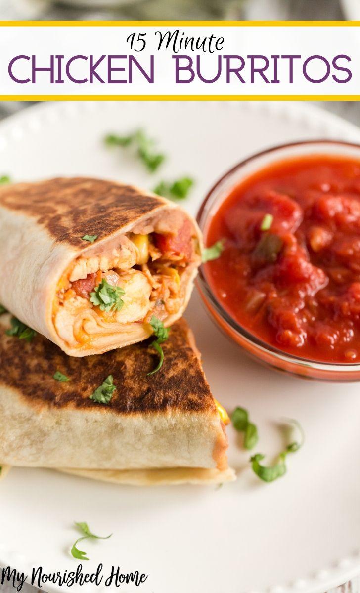 weeknight Chicken Burrito Recipe