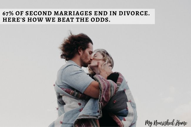 Your second marriage can be successful even if you failed in your first.
