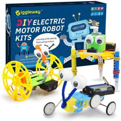 Electric Motor Robotics Kit - beginner science for kids