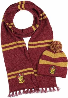 Harry Potter Hogwarts Scarf and Beanie