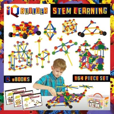 IQ Builder Creative Construction for kids