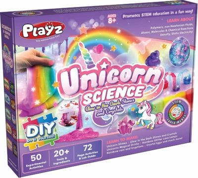 Unicorn Slime - science gift for kids