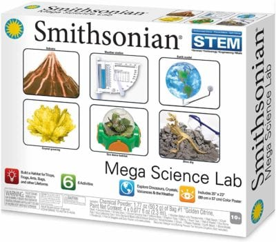 Smithsonian Mega Science Lab for elementary kids