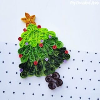 Papercraft Christmas Tree craft