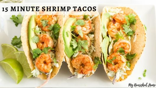 Shrimp Taco Recipe for a fast weeknight meal