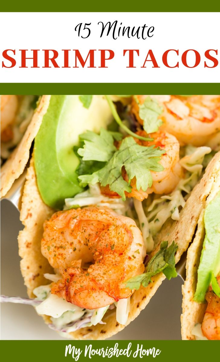 15 Minute Shrimp Tacos